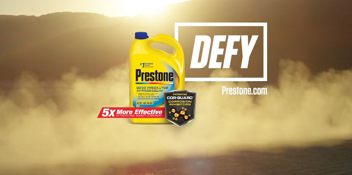 "Prestone ""DEFY the Elements"" (2017) :30"